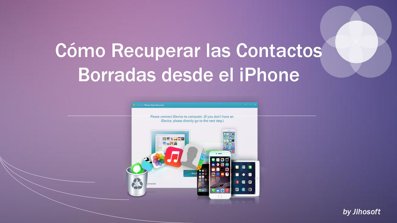 recuperar videos borrados en iphone 6
