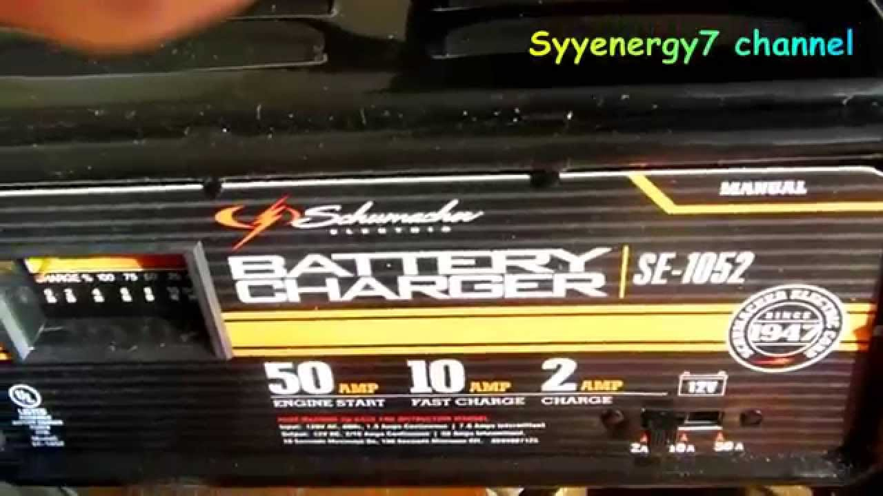 Schumacher Battery Charger Se 1052 Wiring Diagram