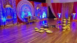 New Deco set up for  Wedding at PGP Wedding Hall on 14/7/18 By KM Wedding Services