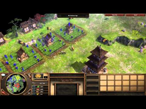 Age of Empires 3: The Asian Dynasties - 01 - The Siege of Osaka Walkthrough Gameplay