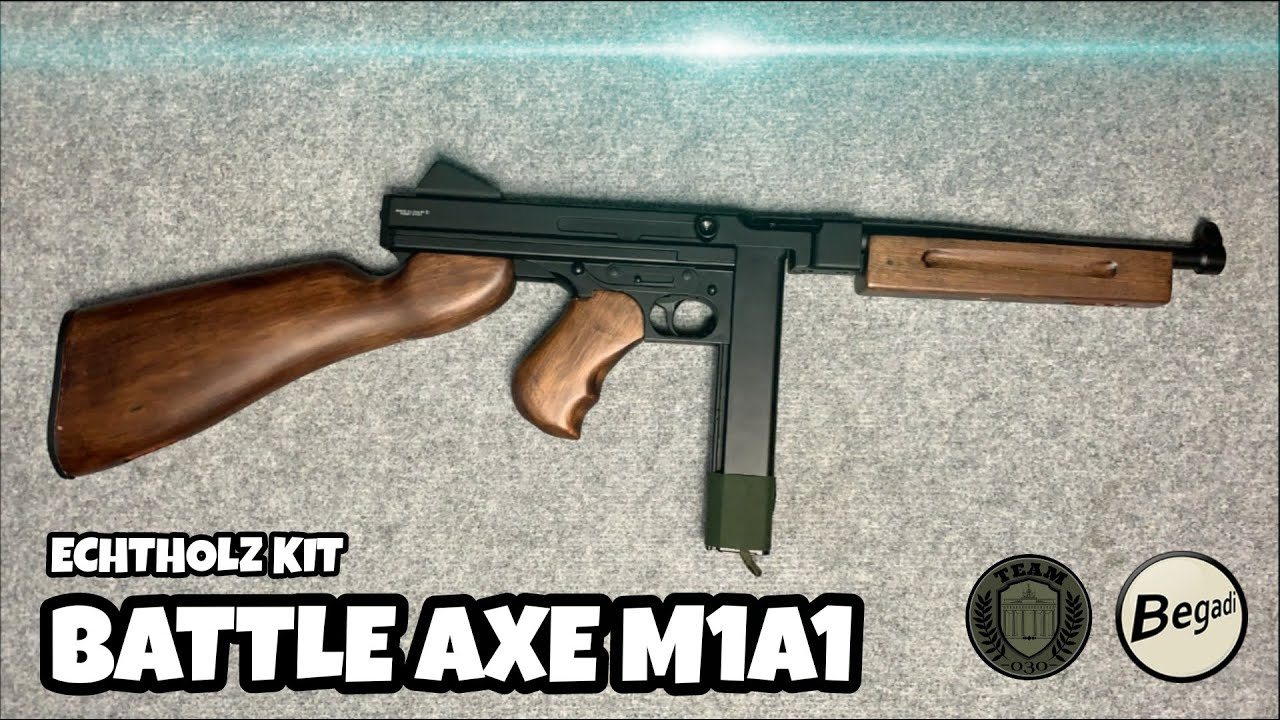 [REVIEW] BATTLE AXE M1A1 Echtholz-Kit
