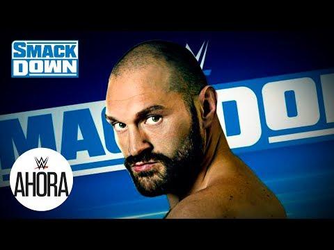 Tyson Fury vuelve a SmackDown esta noche: WWE Ahora, Nov 8, 2019 1
