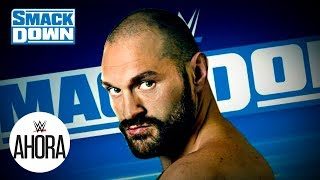 Tyson Fury vuelve a SmackDown esta noche: WWE Ahora, Nov 8, 2019