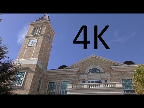 A 4K Tour of TCU (Texas Christian University)