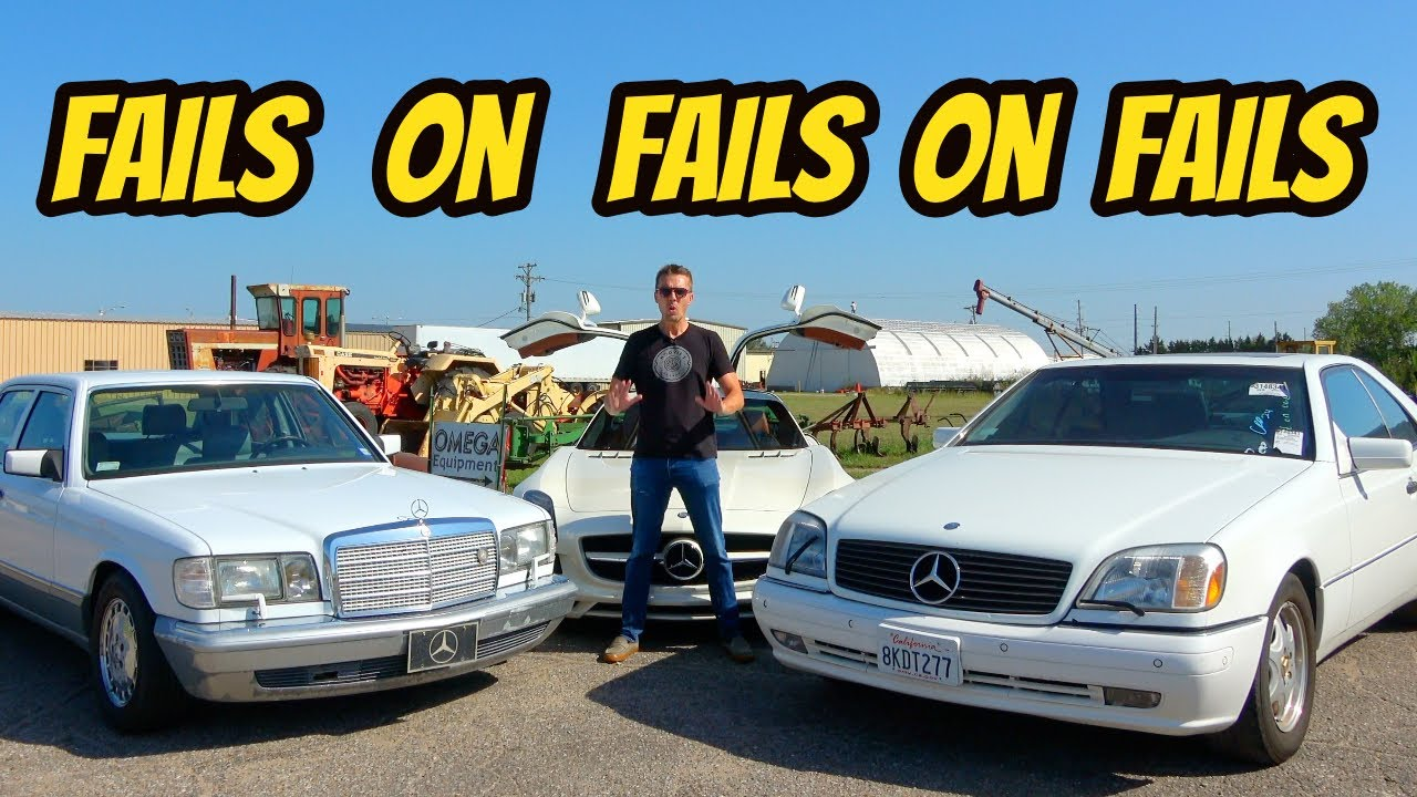 Buy Cheap Mercedes Flagships, Get Expensive Problems