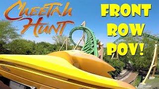 Cheetah Hunt FRONT ROW POV In HD Busch Gardens Tampa!