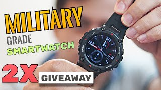Amazfit T-Rex - Military Grade Smartwatch with 20 days battery life - Rs. 9999 (2x Giveaway)!