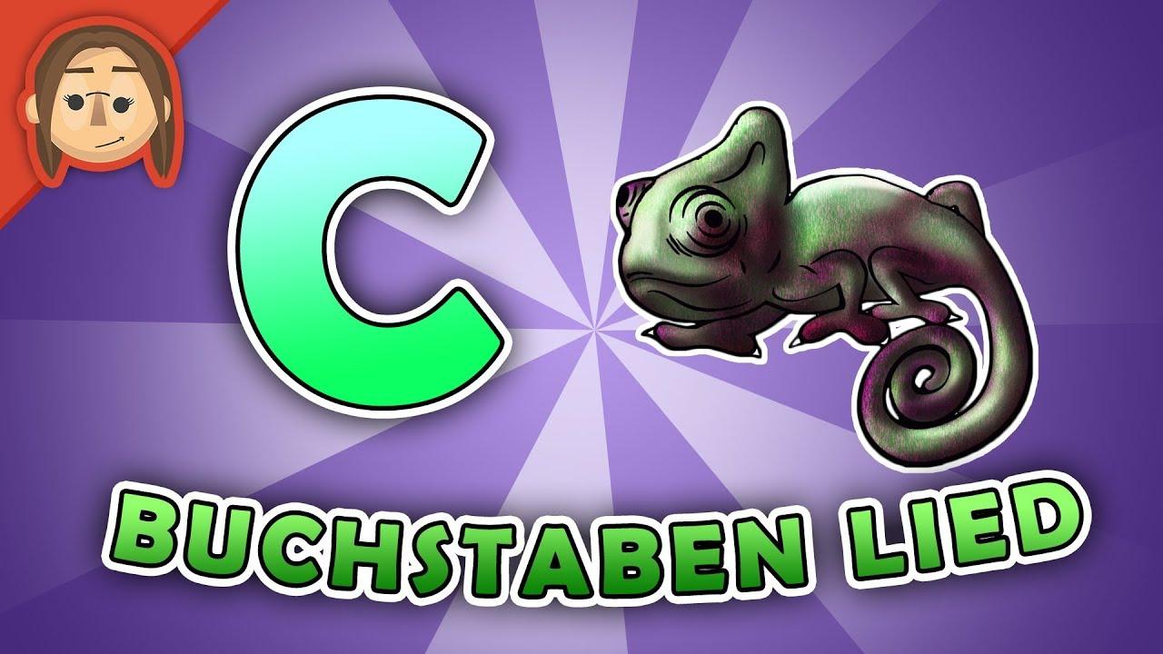 cbuchstabenlied für kinder  abc song deutsch
