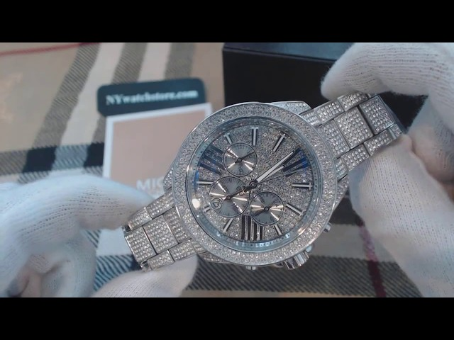 56b7b0862fba VIDEO Review) Michael Kors Women s Wren Two-Tone Watch MK6096 ...