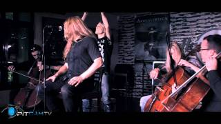 Apocalyptica - I Don´t Care - acoustic at Hardrock Cafe [PitCam]