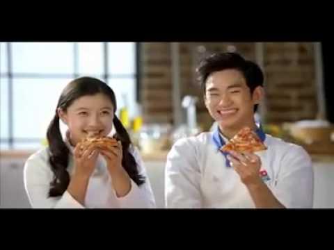 [NG_Domino Pizza] Kim Soo Hyun 김수현 & Kim You Jung 김유정