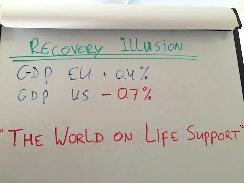 Economic Recovery Illusion: The World's an Easy Money Addict on Life Support
