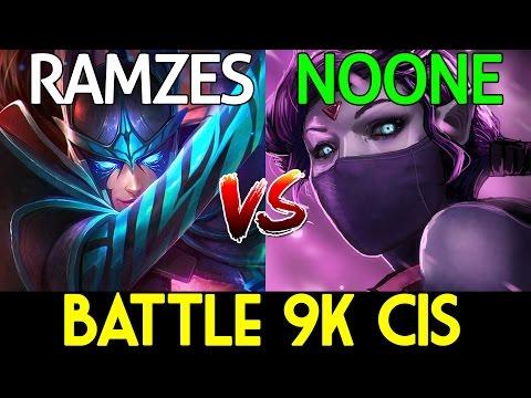 Battle 9k CIS - Ramzes666 [Phantom Assassin] VS Noone [Templar Assassin] 7.06 Dota 2