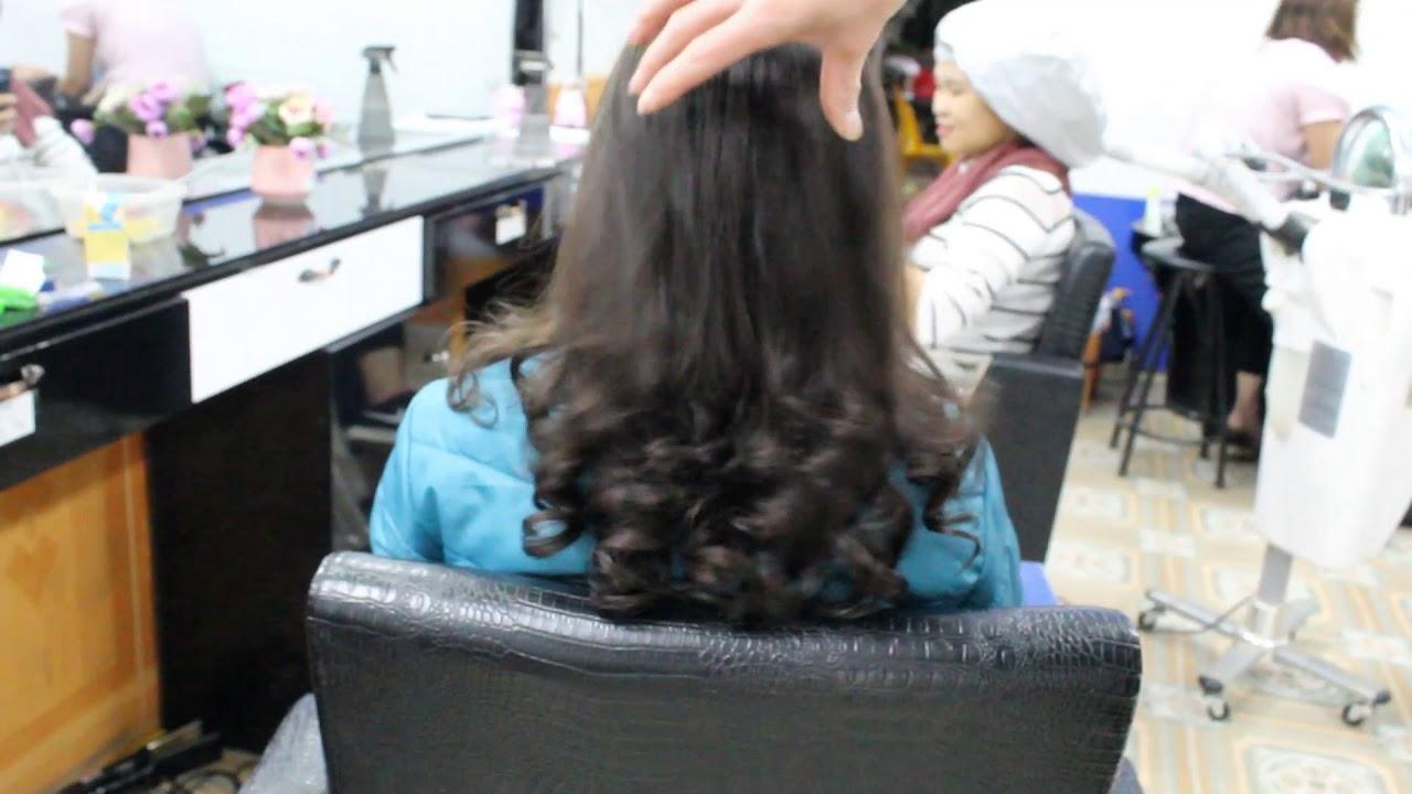 xoăn đuôi giành cho người trung tuổi | Tổng hợp kiến thức về tóc đẹp mới nhất