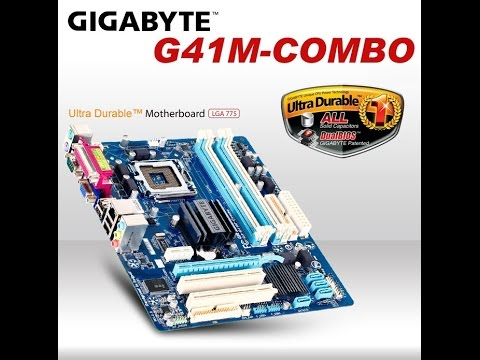 GIGABYTE G41 COMBO DRIVER FOR WINDOWS 10
