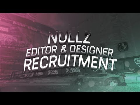 Nullz Editor & Designer Recruitment [Closed in December 10th]