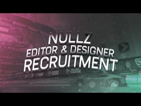 Nullz Editor & Designer Recruitment