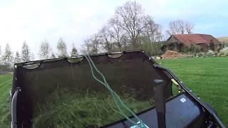Jula - zbieracz do trawy / lawn sweeper