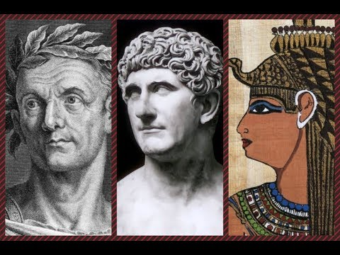 cleopatra relationship with julius caesar and mark antony