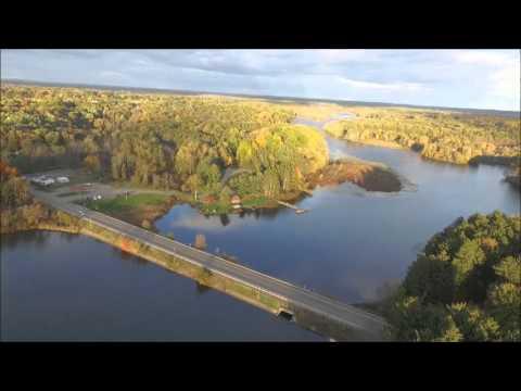 Mogadore Reservoir Fall  Leaves