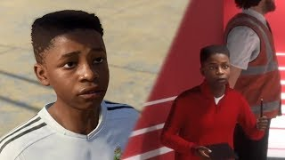 FIRST 'KID' EASTER EGG (FIFA 18 The Journey)