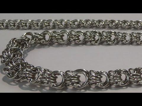 Серебряные цепи. Виды плетений. ЮЗ ТИТАН
