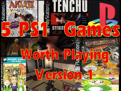 Five PS1 Games Worth Playing: Version 1