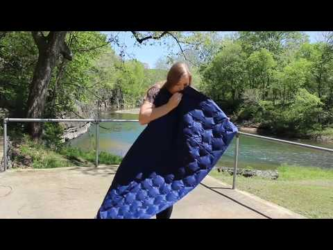 How to Inflate the Ultralight Sleeping Pad | by VENTURE 4TH®| featuring the Hammock Momma