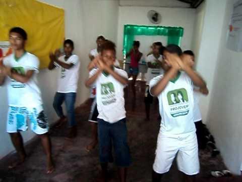 ProJovem Adolescente Pau Brasil - Aula De Dança 01