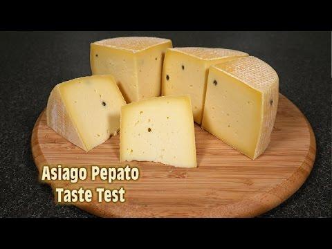 Asiago Pepato Taste Test - It's Delicious!