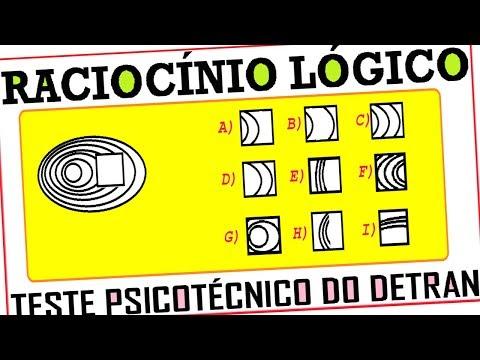 Raciocínio Lógico Figuras imagens Teste psicotécnico QI Quociente e Inteligência Detran Concurso RLM from YouTube · Duration:  2 minutes 24 seconds