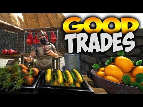 CACTUS CAPITALISM! TRADING FOR EVERYTHING! (Modded Ark Primal Fear & Capitalism Wild West Ep 3)