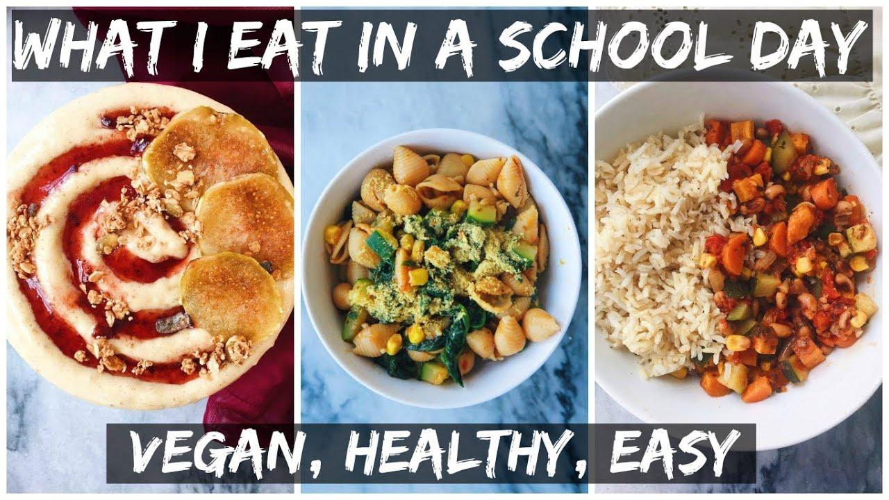 What I Eat In A SCHOOL Day + Vlog || HCLF VEGAN || DAY 14