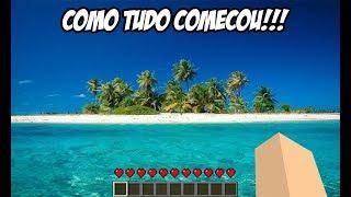 Minecraft | O FILME | PERDIDOS NA ILHA 4 [ COMO TUDO COMEÇOU, PARTE 1 ]