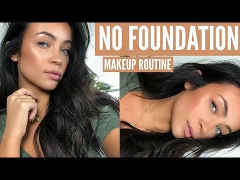 NO FOUNDATION: NATURAL EVERYDAY GLAM MAKEUP ROUTINE | Stephanie Ledda