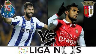 Porto vs  Braga - Liga Nos 2018 - 10/11/2018 - Palpite - Pes 2019 - PC