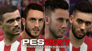PES2017 Atlético Madrid 22 FACE Players | PC download