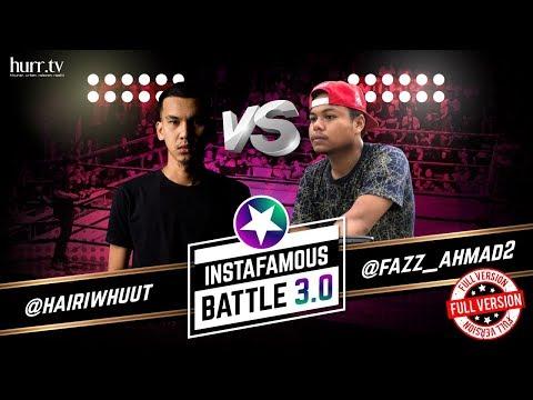 @hairiwhuut MK K-Clique vs. @fazz_ahmad2 Young Rapper (Full Version) | Instafamous Battle 3.0