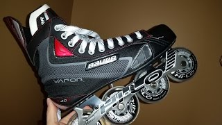 #86 My Brand new Bauer Vapor X40R inline hockey skates. (Narrated)