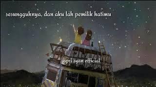 Gambar cover Sumpah aku mencintaimu (cover chika lutfi) lirik vidio by aprisyanofficial🌸