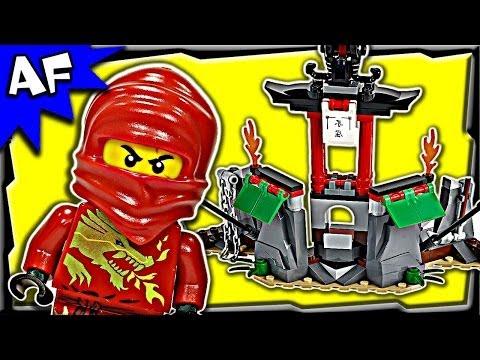 Lego Ninjago MOUNTAIN SHRINE 2254 Stop Motion Set Review