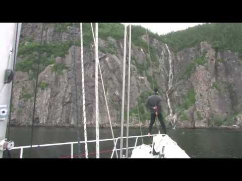 Sailing on the Saint-Lawrence