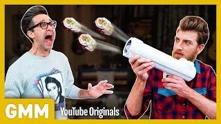 Testing The Sushi Bazooka