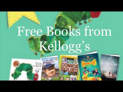 How to Get Free Books from Kellogg's