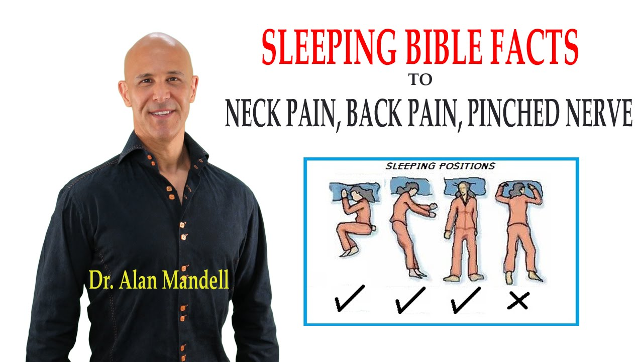 Sleeping Bible Facts To Neck Pain Back Pain Pinched