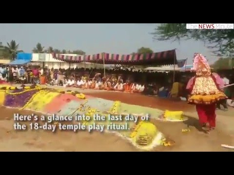 Villagers of Krishnagiri believe  a Mahabharata play brings rains for them
