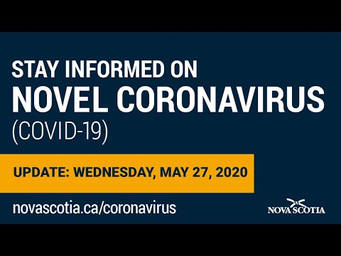 Update COVID-19 for Nova Scotians: Wednesday May 27