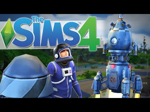 WE HAVE LIFTOFF!! | The Sims 4 Gameplay #21