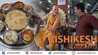 Rishikesh Food Tour - Chotiwala + Beatles Ashram + Ganga Aarti + Nutella Momo + Detox Juice