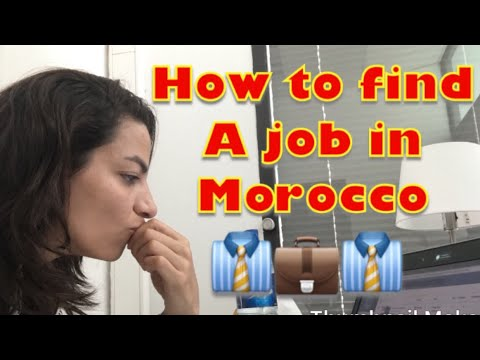 How To Get A Job In Morocco